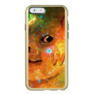 l'espace - doge - shibe - wouah doge coque iPhone 6 incipio feather® shine