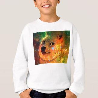 l'espace - doge - shibe - wouah doge sweatshirt