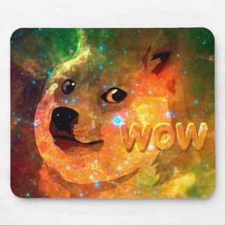 l'espace - doge - shibe - wouah doge tapis de souris