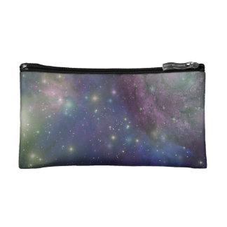 L'espace, étoiles, galaxies et nébuleuses trousses make-up