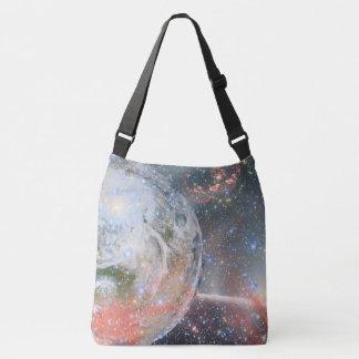 L'espace met en sac la terre de planète