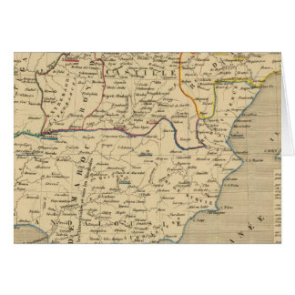 L'Espagne 1027 un 1212 Carte De Vœux