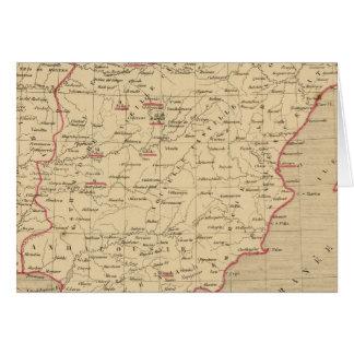 L'Espagne 1492 un 1640 Carte De Vœux