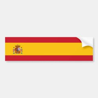 L'Espagne - drapeau espagnol Adhésif Pour Voiture