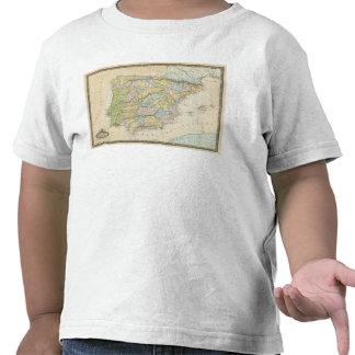 L'Espagne et le Portugal 10 T-shirt