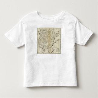 L'Espagne et le Portugal 12 T-shirt Pour Les Tous Petits