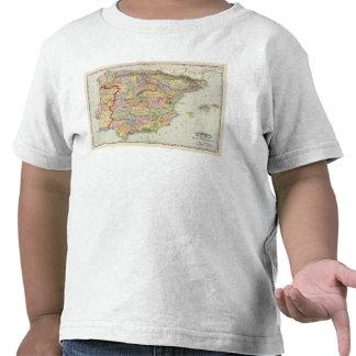 L'Espagne et le Portugal 14 T-shirts
