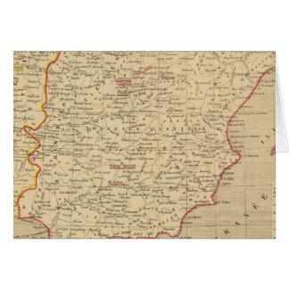 L'Espagne et le Portugal 1640 un 1840 Carte De Vœux