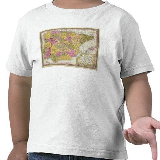L'Espagne et le Portugal 2 T-shirts