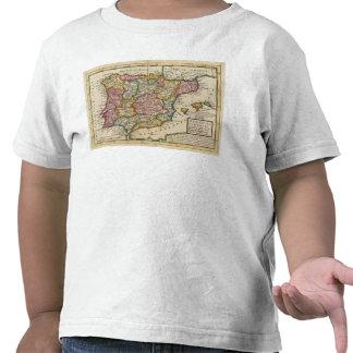 L'Espagne et le Portugal 4 T-shirts