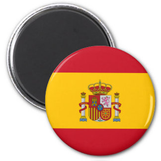 l'Espagne Magnet Rond 8 Cm
