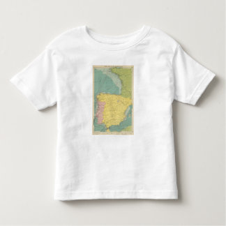 L'Espagne, Portugal, France occidentale T-shirts
