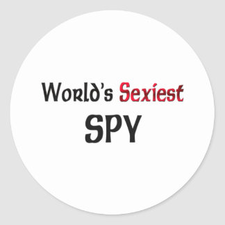L'espion le plus sexy du monde autocollants