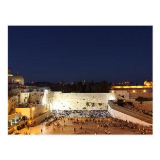 L'Esplanade des mosquées à Jérusalem, Israël Carte Postale