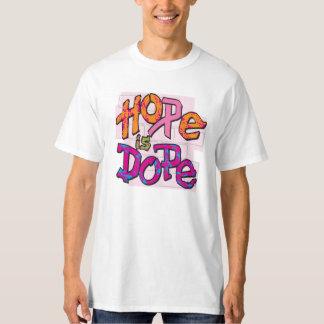 L'espoir est dopant t-shirts