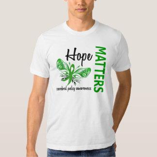 L'espoir importe infirmité motrice cérébrale de t-shirt