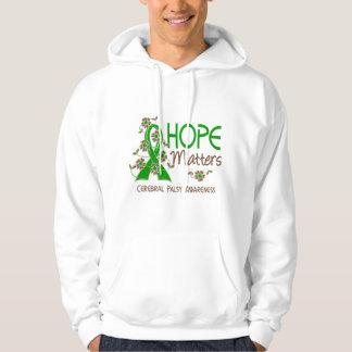 L'espoir importe l'infirmité motrice cérébrale 3 sweats à capuche