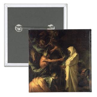 L'esprit de Samuel apparaissant à Saul au hous Badges