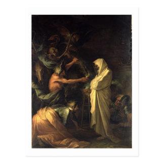 L'esprit de Samuel apparaissant à Saul au hous Cartes Postales