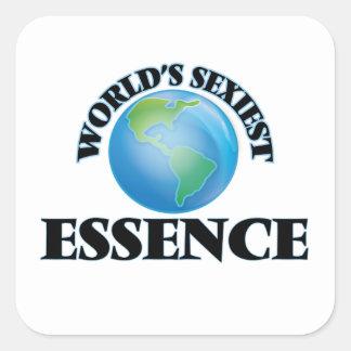 L'essence la plus sexy du monde stickers carrés