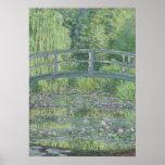 L'étang de nénuphar : Harmonie verte, 1899 Affiches
