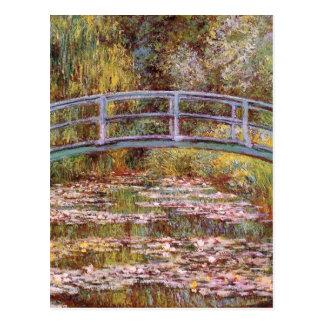 L'étang de nénuphar par Claude Monet Cartes Postales
