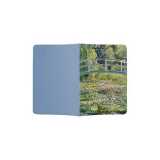 L'étang de nénuphar par des beaux-arts de Monet Protège-passeport