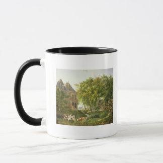 L'étang de village tasse