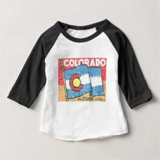 L'état argenté t-shirt pour bébé