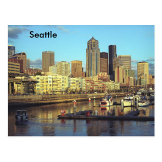 L'état de Washington de Seattle Carte Postale