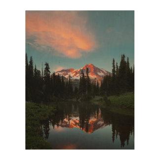 L'état de Washington des Etats-Unis. Le mont Impressions Sur Bois