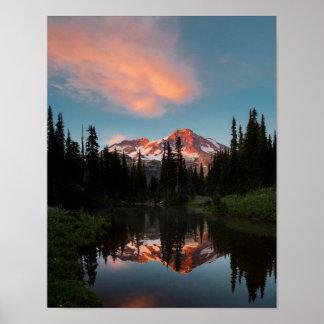 L'état de Washington des Etats-Unis. Le mont
