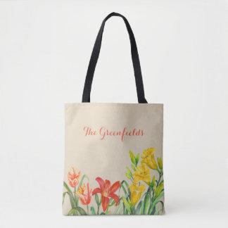 L'été fait sur commande de ressort fleurit le sac