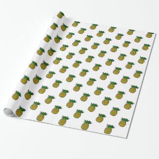 L'été tropical mignon porte des fruits motif papiers cadeaux noël