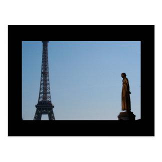 L'Eternité + OU - jour de l'ONU ? - Tour Eiffel Pa Cartes Postales