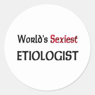 L'Etiologist le plus sexy du monde Autocollants
