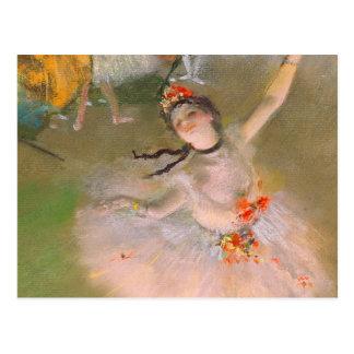 L'étoile (danseur sur l'étape) par Edgar Degas Carte Postale