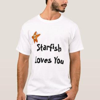 L'étoile de mer vous aime t-shirt