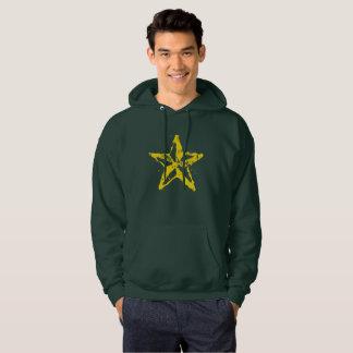 L'étoile rouge utilisée par sweatshirt à capuchon
