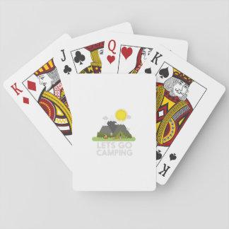 Lets vont camper jeu de cartes