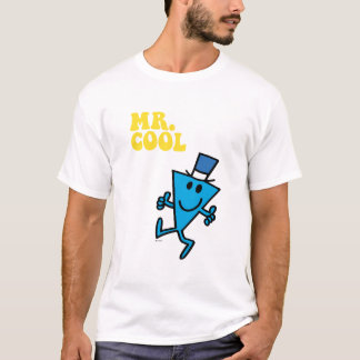Lettrage jaune de M. Cool | T-shirt