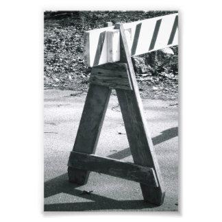 Lettre A2 4x6 noir et blanc de photo d'alphabet