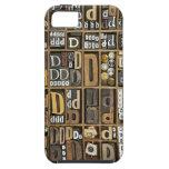 Lettre D Coques iPhone 5 Case-Mate