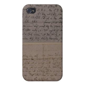 Lettre de Leopold Mozart Coque iPhone 4