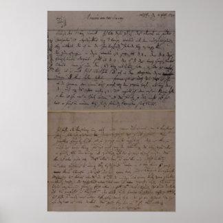 Lettre de Leopold Mozart Affiches