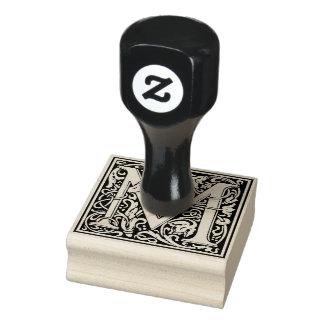 Lettre décorative M de monogramme