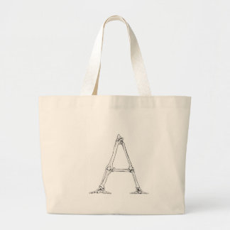 Lettre d'os - A Grand Tote Bag