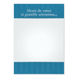 Lettre Remerciements Original Nours Collection Carton D'invitation 12,7 Cm X 17,78 Cm