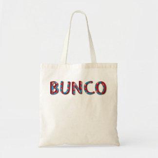 Lettres de Bunco avec des matrices de bunco Sacs En Toile