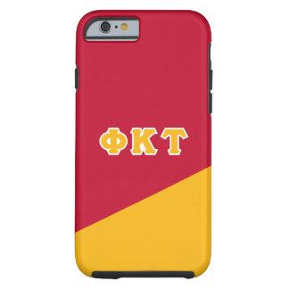 Lettres de Grec de Tau | de Kappa de phi Coque Tough iPhone 6
